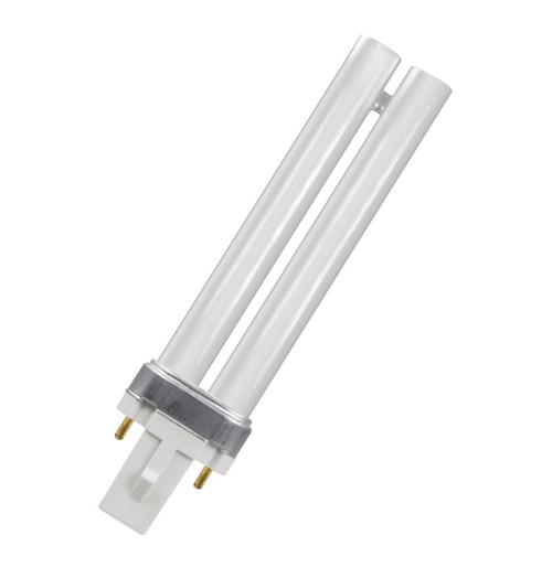 Crompton CFL PLS 2-Pin 7W Single Turn White CLS7SW Image 1