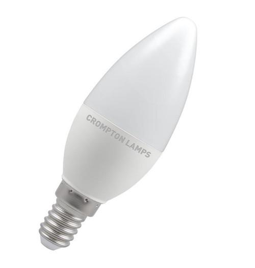 Crompton LED Candle E14 5.5W Dim 2700K 9233 Image 1