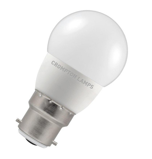 Crompton LED Golfball B22 5.5W Dim 2700K 9301 Image 1