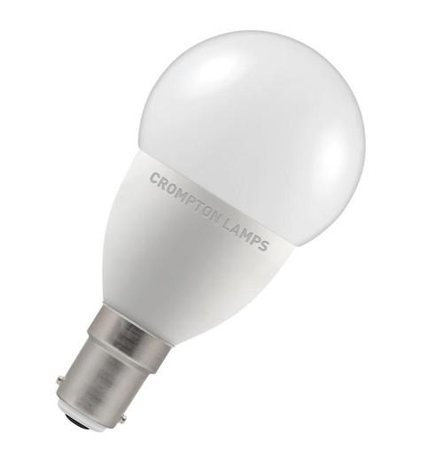 Crompton LED Golfball B15 5.5W Dim 2700K 9318 Image 1