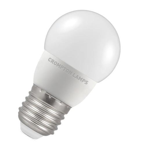 Crompton LED Golfball E27 5.5W Dim 2700K 9325 Image 1
