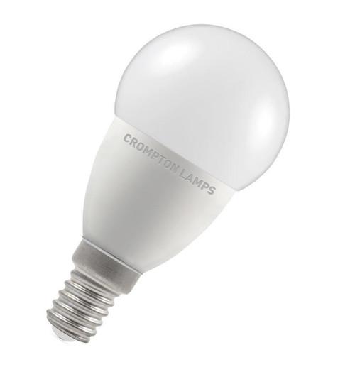 Crompton LED Golfball E14 5.5W Dim 2700K 9332 Image 1