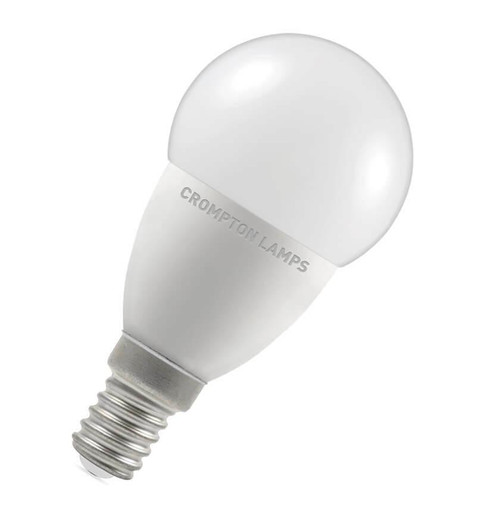 Crompton LED Golfball E14 5.5W Dim 4000K 9363 Image 1