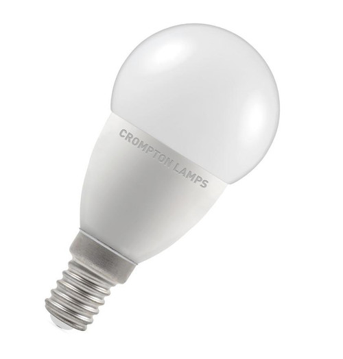 Crompton LED Golfball E14 5.5W Dim 6500K 9394 Image 1