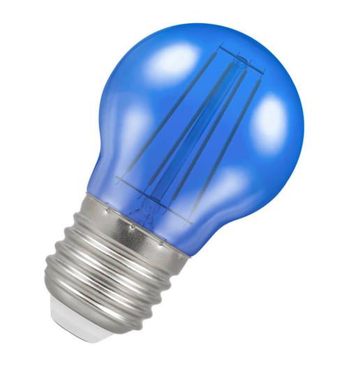 Crompton LED Golfball E27 4W Blue 9813 Image 1