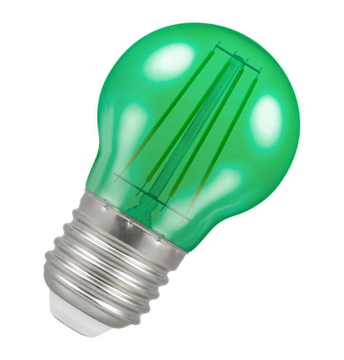 Crompton LED Golfball E27 4W Green 9820 Image 1