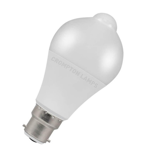 Crompton LED Motion Sensor GLS B22 10W 3000K 11205 Image 1