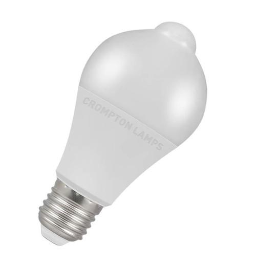 Crompton LED Motion Sensor GLS E27 10W 3000K 11212 Image 1
