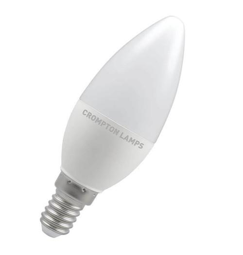 Crompton LED Candle E14 5.5W Dim 4000K 11458 Image 1