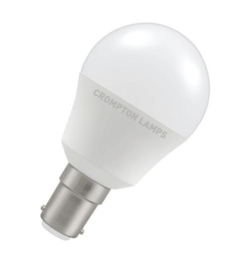 Crompton LED Golfball B15 5.5W 2700K 11502 Image 1