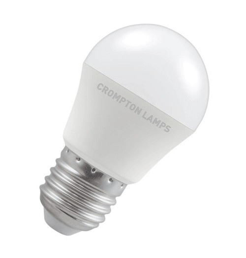 Crompton LED Golfball E27 5.5W 2700K 11519 Image 1