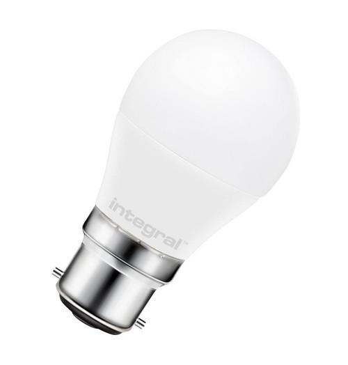 Integral LED Golfball B22 7.5W 2700K ILGILFB22NC041 Image 1