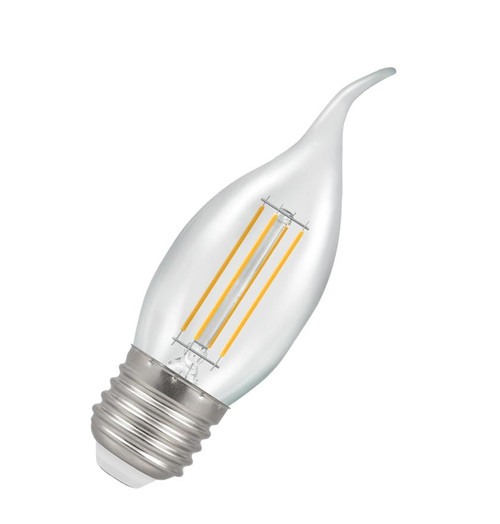 Crompton LED Bent Tip Candle E27 5W Dim 2700K 12158 Image 1