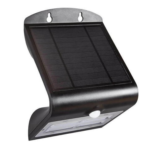 Phoebe LED Solar Wall Light PIR Sensor 6000K IP65 X5173 Image 1