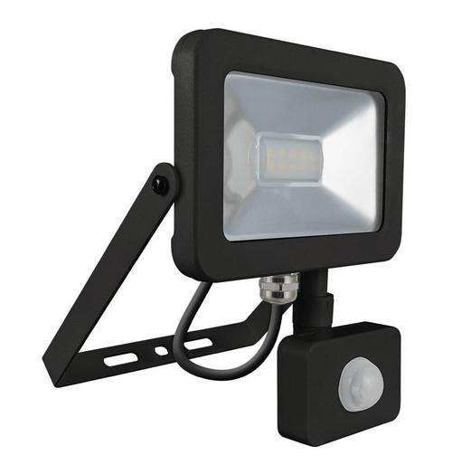 Phoebe LED Floodlight 10W PIR Sensor 4000K IP66 7598 Image 1