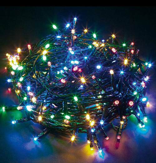 Sentik LED 15 Metre String Lights Multi-Coloured 54066S Image 1