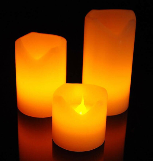Sentik LED Mood Candles (3 Pack) 54084S Image 1