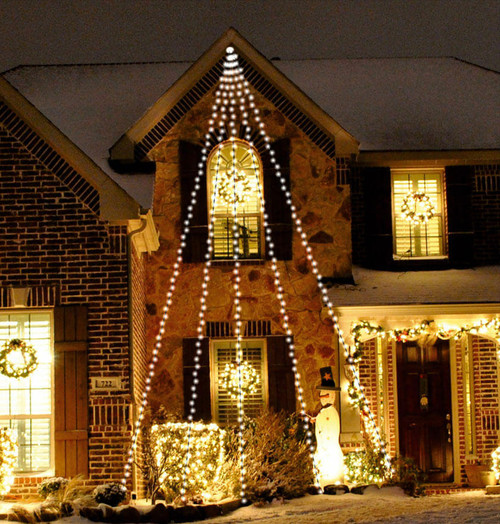 Sentik LED 3.6 Metre Waterfall String Light (300 Lights) 54046S Image 1