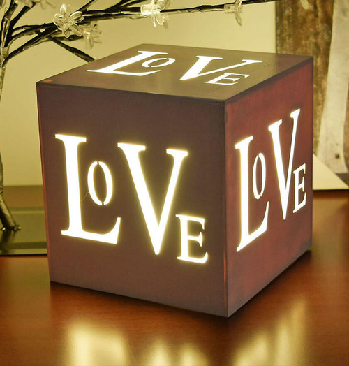 Sentik LED Love Lightbox 54059S Image 1