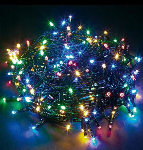 Sentik LED 10 Metre String Lights Multi-Coloured 54065S Image 1