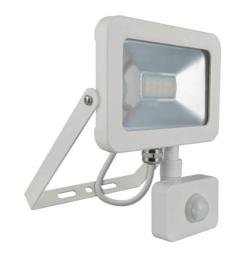 Phoebe LED Floodlight 10W PIR Sensor 4000K IP66 10321 Image 1