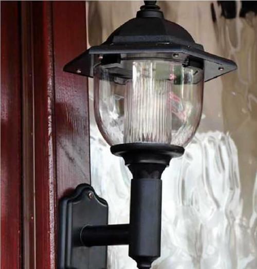 Dusk Til Dawn LED Solar Wall Light SLWALL2 Image 1