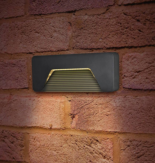 Integral LED Brick Light 3W 3000K ILDEA017 Image 1