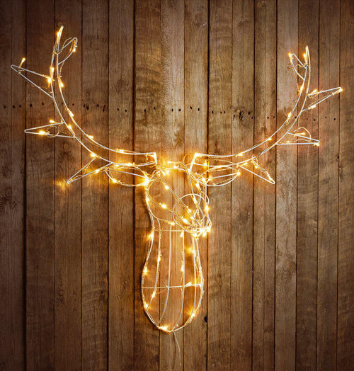 Sentik LED Decorative Stag Head 54044S Image 1