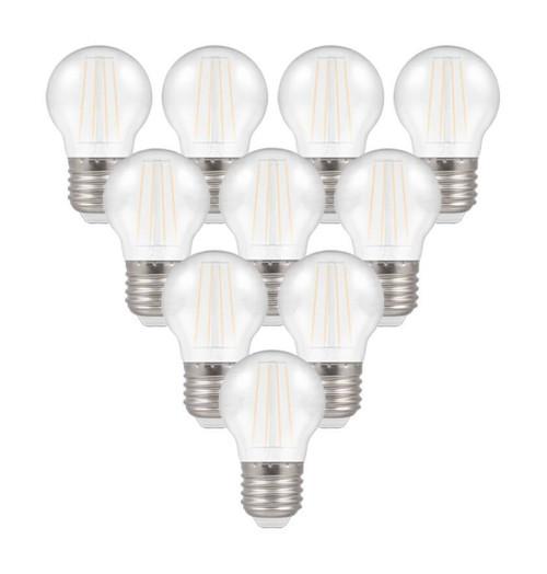 Crompton LED IP65 Golfball E27 4W White X6121 Image 1