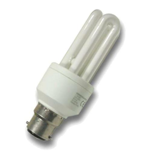 MiniSun CFL Tubular B22 11W 2700K 18421 Image 1