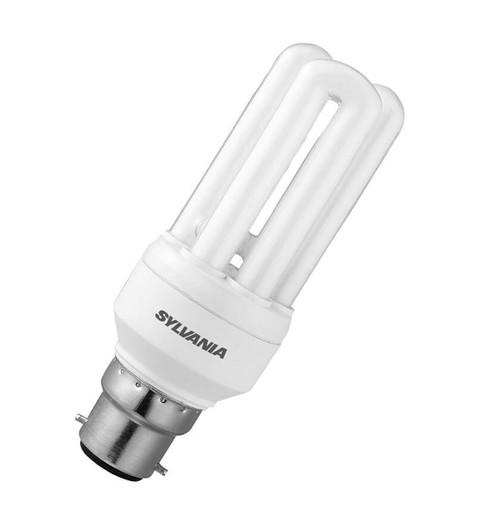 Sylvania CFL Fast Start V2 Tubular B22 11W 2700K 0035012 Image 1