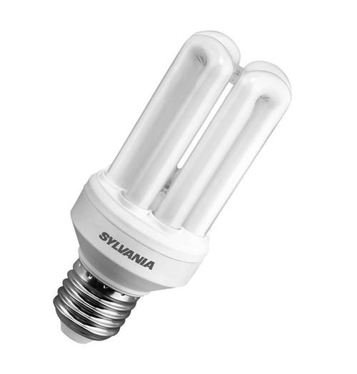 Sylvania CFL Fast Start V2 Tubular E27 15W 2700K 0035004 Image 1