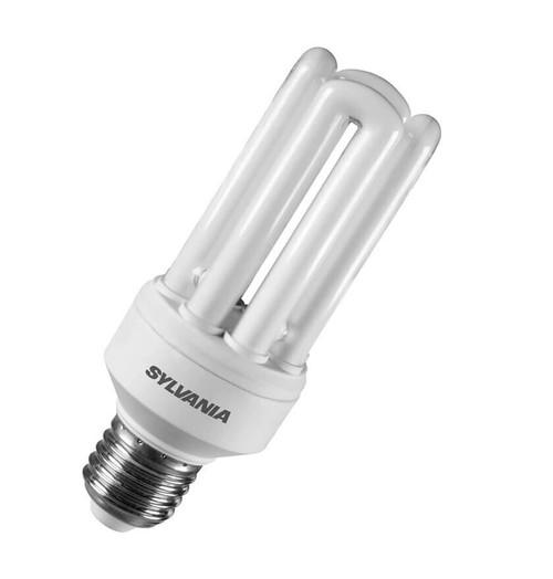 Sylvania CFL Fast Start V2 Tubular E27 20W 2700K 0035006 Image 1