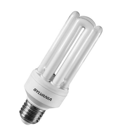 Sylvania CFL Fast Start V2 Tubular E27 23W 2700K 35010 Image 1