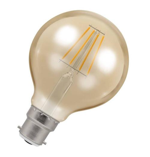 Crompton LED Globe B22 5W Dim 2200K Antique 4269 Image 1