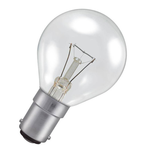 Crompton Golfball B15 25W 2800K PROU25CSBC Image 1
