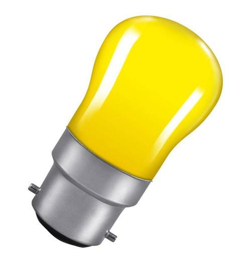 Crompton Pygmy B22 15W Yellow SIG15YBC Image 1