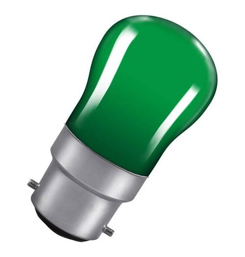 Crompton Pygmy B22 15W Green SIG15GBC Image 1