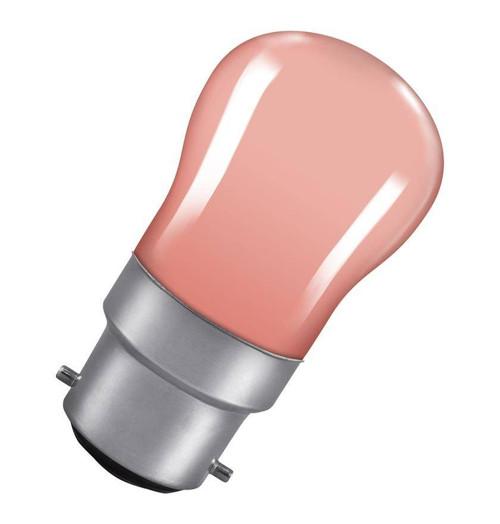 Crompton Pygmy B22 15W Pink SIG15PIBC Image 1