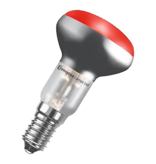 Crompton R50 Reflector E14 25W Red R5025RSES Image 1