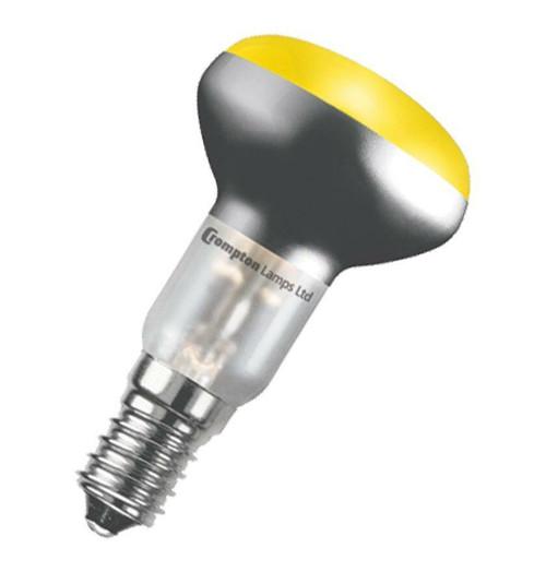 Crompton R50 Reflector E14 25W Yellow R5025YSES Image 1