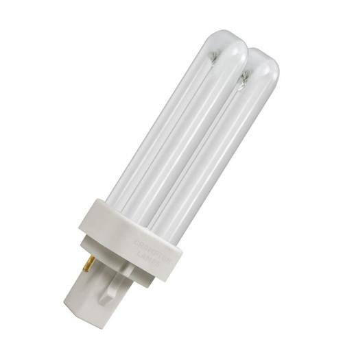 Crompton CFL PLD 2-Pin 10W 3000K CLD10SWW Image 1