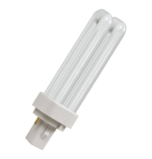 Crompton CFL PLD 2-Pin 10W Double Turn White CLD10SW Image 1