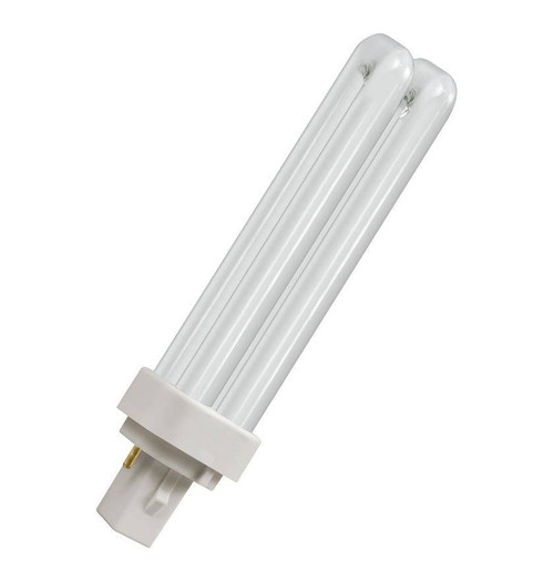 Crompton CFL PLD 2-Pin 13W Double Turn White CLD13SW Image 1