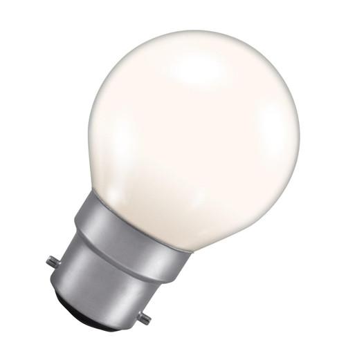 Crompton Golfball B22 15W White ROU15WBC-GLZ Image 1