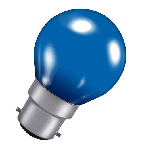 Crompton Golfball B22 15W Blue ROU15BBC-GLZ Image 1