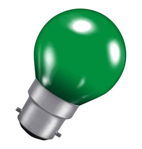 Crompton Golfball B22 15W Green ROU15GBC-GLZ Image 1