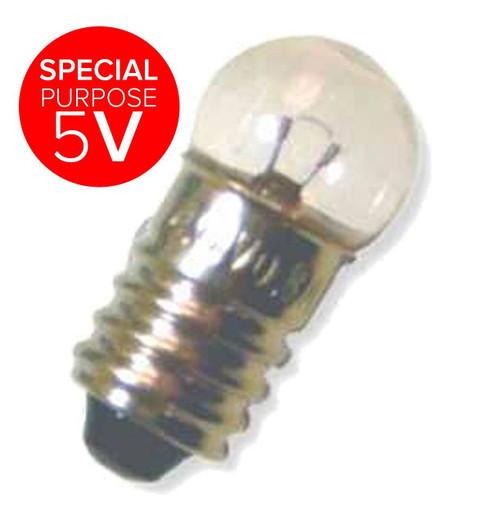 15x28mm 12V Miniature E10 5W XLV12V5WE10 Special purpose 12V