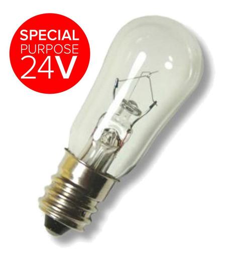 19x48mm 24V Miniature E12 5W XLV24V5WE12 Special purpose 24V