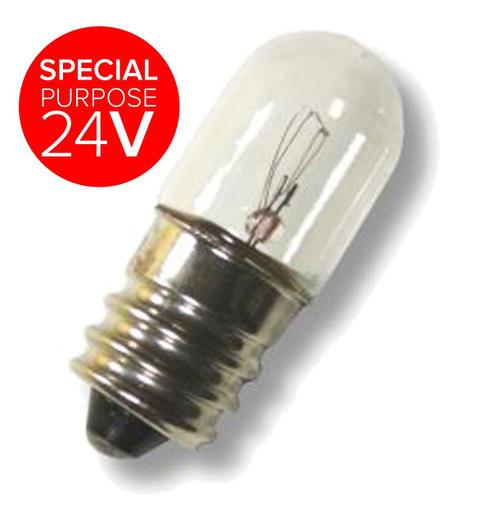 13x34mm 24V Miniature E12 3W XLV24V3WE12 Special purpose 24V